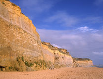 Limestone cliff, Australia Royalty Free Stock Images