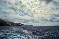 White cliffs of Bonifacio royalty free stock image