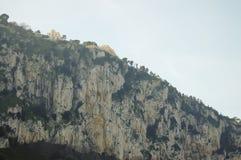 Limestone Cliffs - Capri Island - Italy Stock Photography