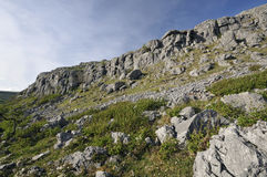 Limestone Cliffs of Mullaghmore Royalty Free Stock Photography