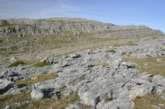 Limestone Cliffs Mullaghmore Stock Photo