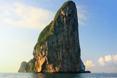 Limestone cliffs of Phi Phi Leh Island, Krabi Province, Thailand Stock Photo