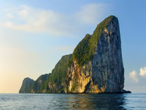 Limestone cliffs of Phi Phi Leh Island, Krabi Province, Thailand Stock Photography