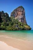 Limestone cliffs of Railay bay in Krabi Stock Photo