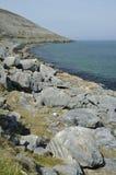 Limestone coast and headland Stock Photos