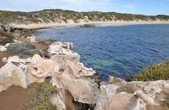 Limestone Coast: Indian Ocean Bay, Western Australia royalty free stock photography