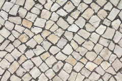 Limestone cobble texture Royalty Free Stock Image