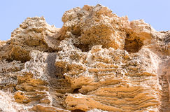 Limestone deposits Royalty Free Stock Photos