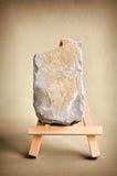 Limestone easel Royalty Free Stock Image
