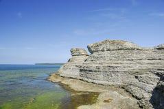 Limestone Erosions Royalty Free Stock Image