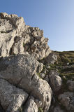 Limestone formation Royalty Free Stock Photo