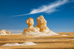 The limestone formation rocks Stock Photography