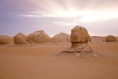 The limestone formation rocks Royalty Free Stock Image