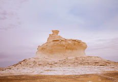 The limestone formation rocks  a Cake Royalty Free Stock Images