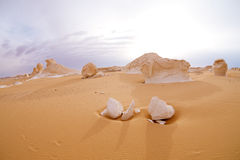 The limestone formation rocks on Sunrise Royalty Free Stock Image