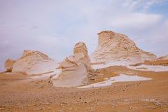 The limestone formation rocks on Sunrise Stock Image
