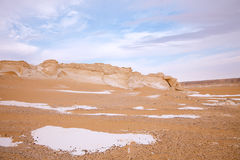 The limestone formation rocks on Sunrise Royalty Free Stock Photography