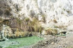 Limestone formation Royalty Free Stock Photography