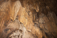 Limestone formations in karst cave Stock Photography