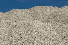 Limestone gravel Stock Photography