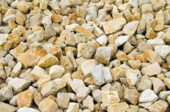 Limestone gravel Royalty Free Stock Photos