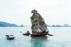 Limestone Halong bay landscape Stock Image