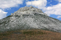 Limestone hill. Stock Photo