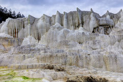 The limestone hill of Egerszalok Stock Photography