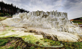 The limestone hill of Egerszalok Royalty Free Stock Images