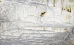 Limestone hill. At Egerszalok in Hungary Stock Photo