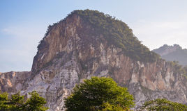 Limestone Hill. In Selangor Malaysia Royalty Free Stock Image