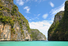Limestone islands near Phuket Stock Photos