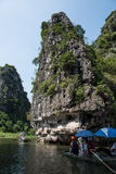 Limestone Karsts in Tam Coc Stock Images