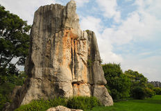 Limestone at Kunming Stone forest or Shilin Stock Photos
