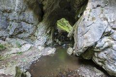 Limestone landscape Royalty Free Stock Images