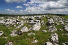 Limestone landscape. A photo of a limestone landscape Royalty Free Stock Images