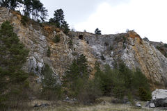 Limestone mine, Koneprusy Stock Photography