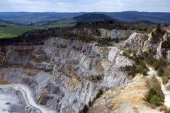 Limestone mine, Koneprusy Royalty Free Stock Photography