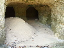 Limestone Mining Royalty Free Stock Photos