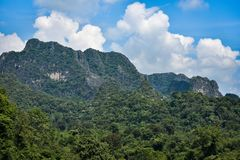 Mountain limestone Royalty Free Stock Images