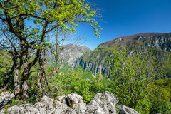 Limestone mountains Royalty Free Stock Photography