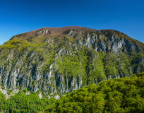 Limestone mountains Stock Photography