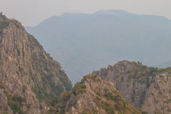 Limestone mountains Royalty Free Stock Image