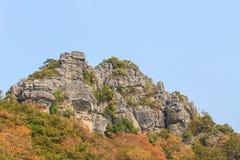 Limestone mountains Stock Photo