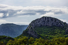 Limestone mountains. Royalty Free Stock Images