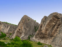 Limestone mountians. Stock Photography