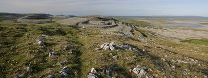 Limestone Pavement mountains Royalty Free Stock Photos