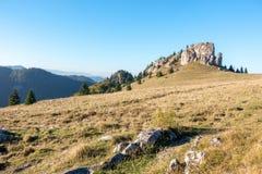 Limestone peak named King's Well - Greater Fatra-Slovakia Royalty Free Stock Photo
