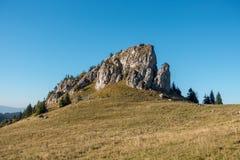 Limestone peak named King's Well - Greater Fatra-Slovakia Stock Photo