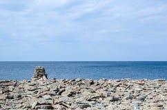 Limestone pile Stock Photos